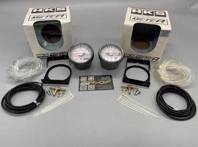 HKS Boost Turbo / Vacuum Meter Gauge Mechanical