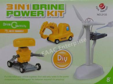 3 IN 1 Brine Power Kit - Fun Learning DIY Toys