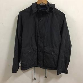 Chaps Military Hoodie Jacket Size M