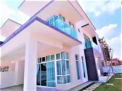 (13'HIGH CEILING,24x80) 2 storey terrace house Cyberjaya, Hirave Villa
