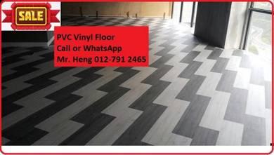 Natural Wood PVC Vinyl Floor - With Install 78ikik