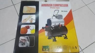 Airbrush Auto-Stop Quiet Mini 3L Air Compressor