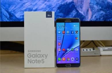 Samsung Note 5 Full Set Box Like New