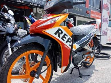 DASH 125 REPSOL WAVE 125i (1DISC/2DISC)