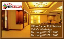 Plain Carpet Roll with Expert Installation ML70