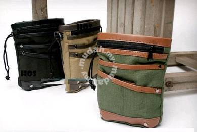 BG01 Retro Stylish Waist Pack Korean Casual Bag