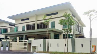 New completed fully furnished 2 storey semi-d house