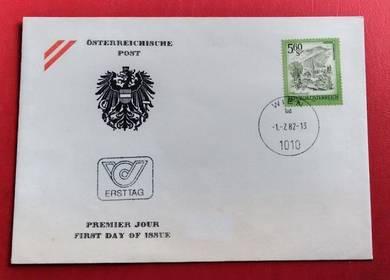 FDC Republik Osterreich 1982
