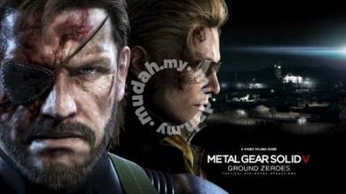 Poster METAL SOLID GEARS 5 GROUND ZEROES PS4