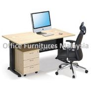 5ft Executive Writing Table OFMQ1570 SET shah alam