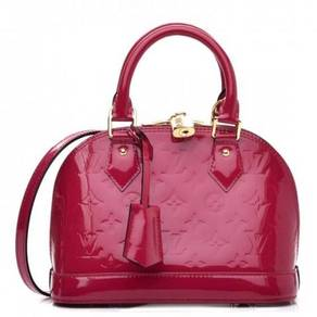 LOUIS VUITTON Vernis Alma BB Rose Indien