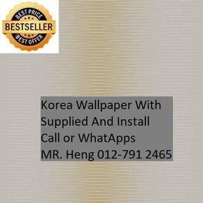 Beautiful In Wall paper with Installation 495M