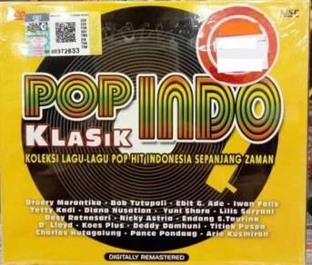 2CD Pop Indo Klasik Vol. 1 Broery Bob Tutupoli