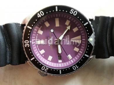 Jam Seiko Scuba Diver Unggu 7002 Auto watch