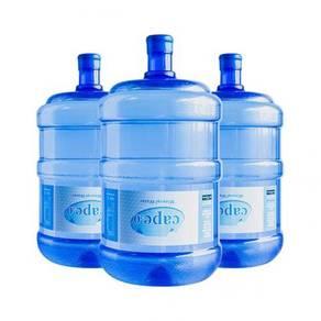 19 liter Air botol RO, Mineral, Alkali, Air suling