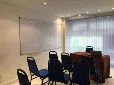 White board 4x8 wall instaltion magnetic pasang