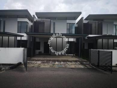 Double Storey Terrace House at Botanika, Batu Kawa / Batu Kawah