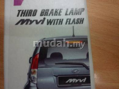 Myvi alza led third brake light led flash light