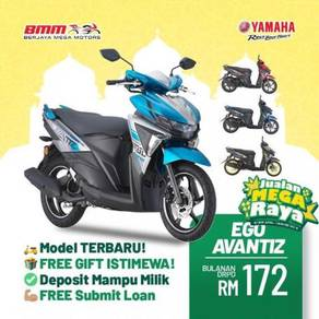 2021 Yamaha Ego Avantiz 125 scooter Offer Raya BMM