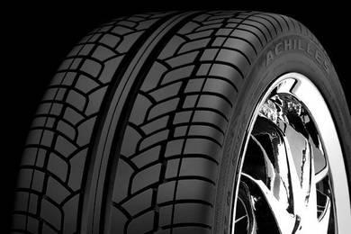 Tyre achilles desert hawk uhp 235-55-19 CX5 Tayar
