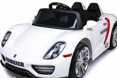 Big pochea childrend ride white