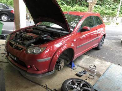 Front absorber satria neo