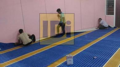 Supply&install mosque carpet, karpet masjid