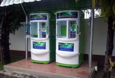 Vending Machine RO Water layan diri Pahang