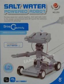 Salt Water Powered Robot - Fun Learning DIY Toys