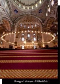 AT office /shop /mosque ~roll carpet >carpet tiles