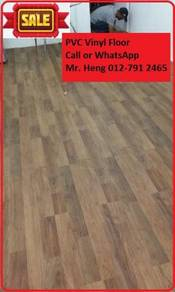 Natural Wood PVC Vinyl Floor - With Install 87iky