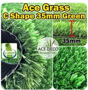 Ace C35mm Green Artificial Grass Rumput Tiruan 40