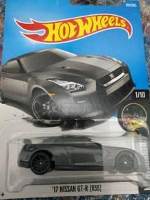 HotWheels Nissan GTR-35 Black