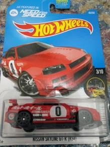 HotWheels Nissan Skyline GTR 34 Red