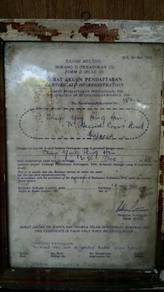 Certificate Of Registratio