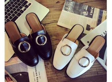 8065 Austin Slip On Ring Buckle Loafers Shoes