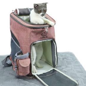 Beg Sangkut Pembawa Sangkar Kucing Comel