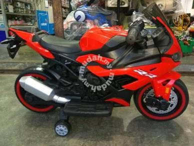 Kids red ninja electrik superbike