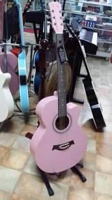 Akustik Gitar Pink