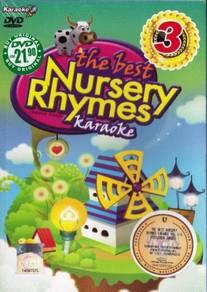 DVD Karaoke Best Nursery Rhymes Children Songs 3