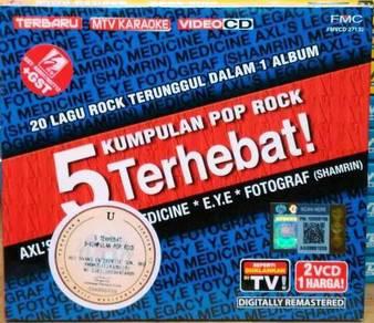 VCD 5 Kumpulan Pop Rock Terhebat 2VCD