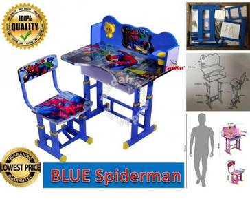 Study Table and Chair Kid Set spiderman