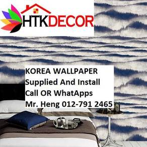 Wall paper with New Collection 615BW