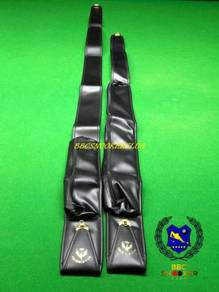 3/4 and 1 piece Soft leather Snooker Cue Case Bag