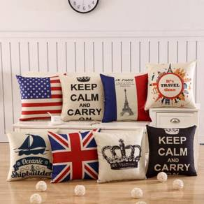 Pillow case cushion cover bantal sarung sofa ofis