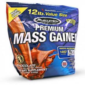 Muscletech 100% Premium Mass Protein naik berat