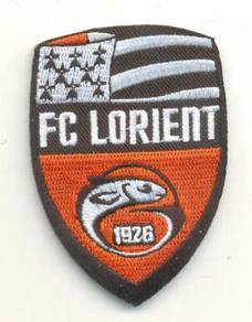 French Ligue FC Lorient France Football Patch