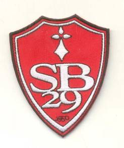 French Ligue Stade Brestois 29 Football Patch