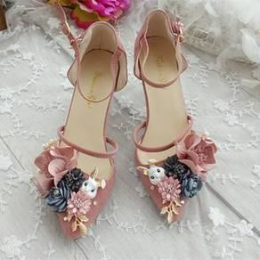 Cute rabbit bunny fox pointed high heels