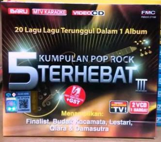 VCD 5 Kumpulan Pop Rock Terhebat III 2VCD